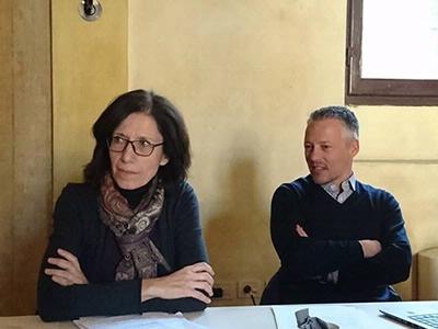 I consiglieri Gabriella Gentile e Lorenzo Pignatti