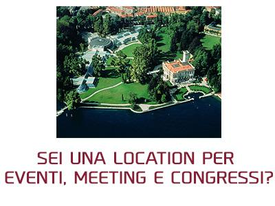 Sei una location per eventi, meeting e congressi?