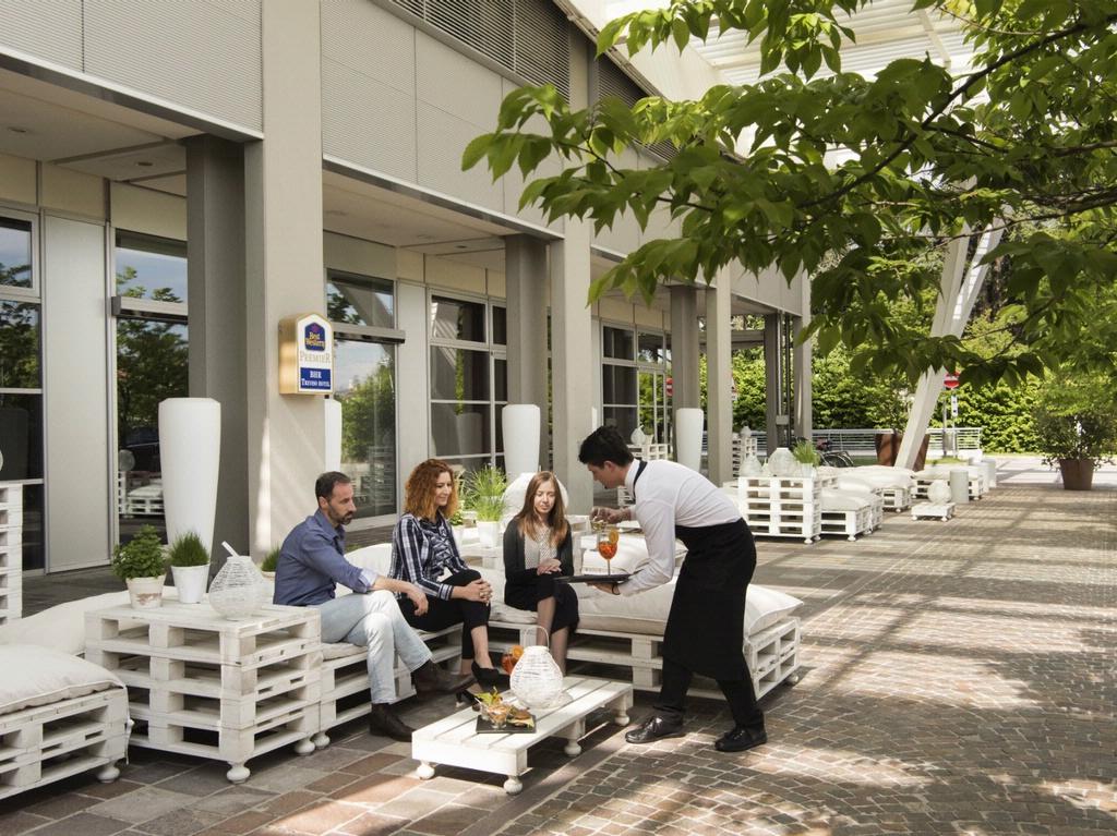 BW PREMIER BHR Treviso Hotel_terrazza estiva