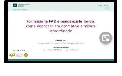 Formazione FAD e residenziale ibrida: come districarsi tra normative e misure straordinarie